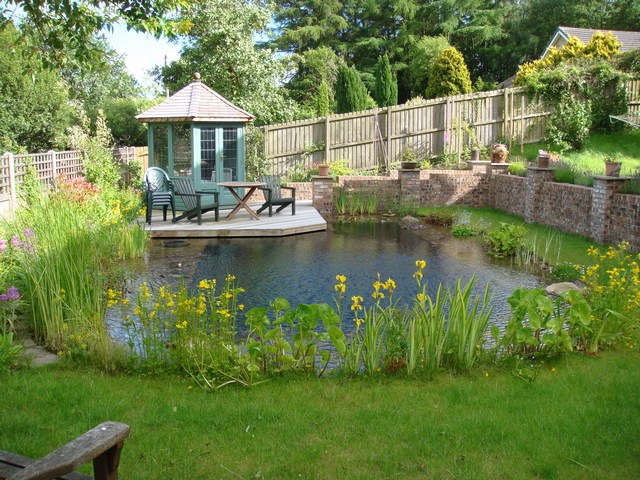 Anglo swimming ponds review our portfolio for Natural garden pond